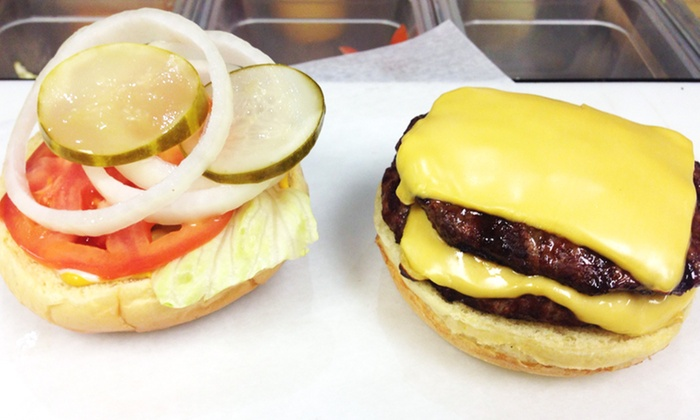 Felony Franks - Oak Park: $7 for $10 Worth of Specialty Hot Dogs, Burgers and Sides at Felony Franks