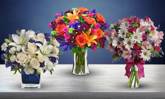 Save 50% on Vibrant Flowers with Shipping Included from Blooms Today