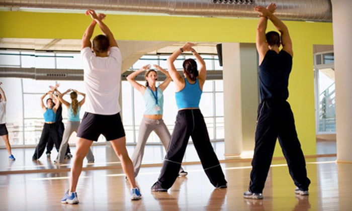 Solid Fitness - Concord: 10 or 20 Zumba or Group Fitness Classes at Solid Fitness (Up to 84% Off)