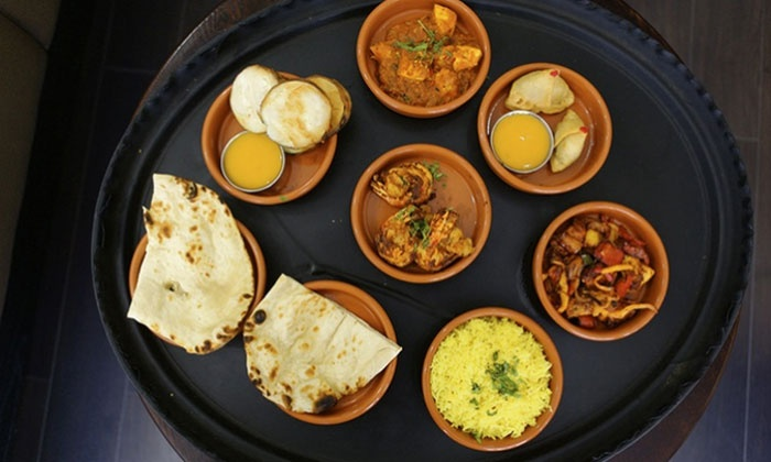 Chili Restaurant - Barnsley: Four or Eight Curry Tapas Dishes with Two or Four Sides for Two or Four at Chilli Restaurant