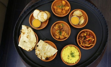 Four Curry Tapas Dishes for Two