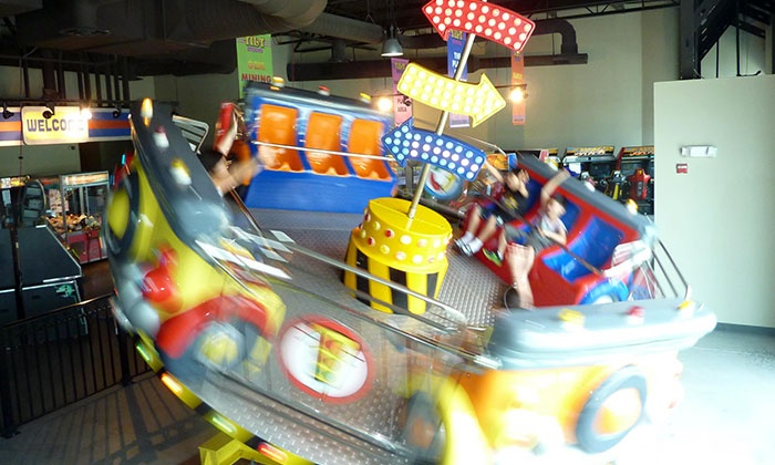 Tilt Studio Fun Center - Philadelphia: Fun Center Package for Two or Four with Video-Game Play, Mini Golf, and Pizza at Tilt Studio Fun Center (55% Off)