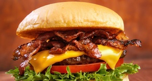 Mesquite Cottage: Burgers or Chicken Sandwiches with Fries for Two or Four at Mesquite Cottage (Up to 49% Off)