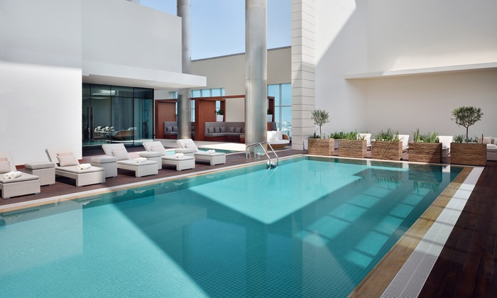 Gym And Pool Membership With Spa Treatments At 5 Marriott Hotel Downtown Abu Dhabi