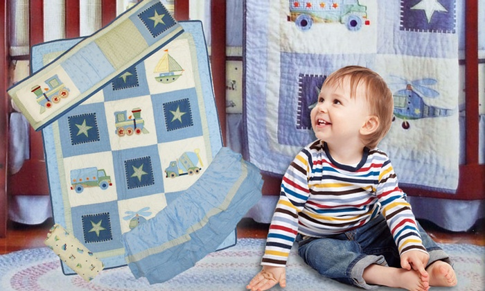 Tiddliwinks 4-Piece Crib Bedding Set: $29.99 for a Tiddliwinks 4-Piece Crib Bedding Set ($49.99 List Price). Free Shipping and Returns.