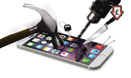 One or Two Tempered Glass Screen Protectors for iPhones