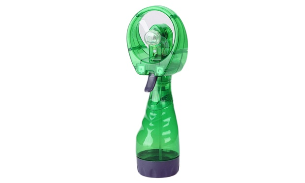 Portable Water Misting Fan: One ($12.95) or Two ($23.95)