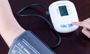 Automatic Arm Blood-Pressure Monitor with 120-Reading Memory