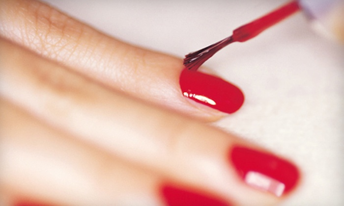 The G Spa Salon - Encino: One or Two Express Shellac or Gelish Manicures at The G Spa Salon (Up to 51% Off)