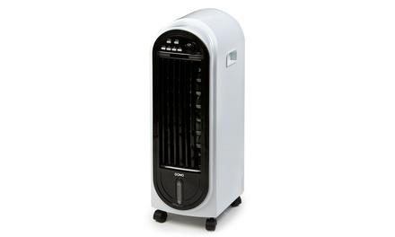 refroidisseur d air 6 en 1 fonctions ventilation ioniseur humidificateur antimoustiques. Black Bedroom Furniture Sets. Home Design Ideas