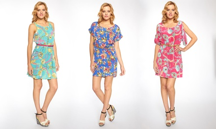 Women's Floral Shift Dresses