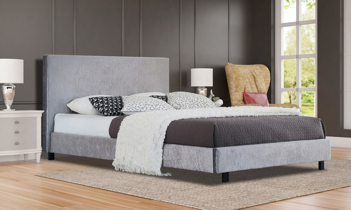 Florence Shimmer Bed with Optional Mattress from £89