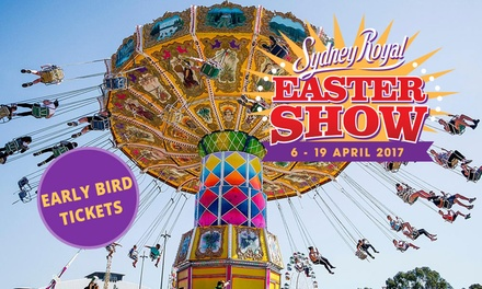 Sydney Royal Easter Show: Early Bird Tickets at Sydney Olympic Park, 619 April