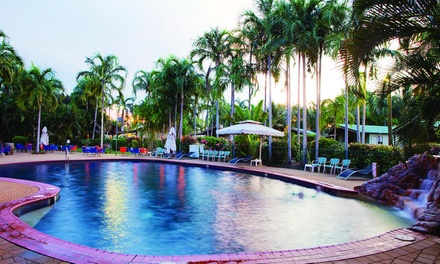 Darwin: 2- or 3-Night Break for 2 or 4 People with Wine, Drink Voucher and Late Check-Out at Darwin FreeSpirit Resort
