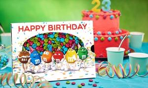 My M&M's®: Coffret anniversaire de 400g ou sachet vrac d'1,5kg, à personnaliser surMy M&M's® dès 29,90 €