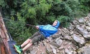 Adrenalinbecker: 2 Std. Canyoning-Tour durch das Flussbett der Murg für zwei oder vier Personen mit Adrenalinbecker (bis zu 52% sparen*)