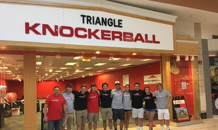15-Minutes of Open Play for Two, Four, or Six or One-Hour Event Package at Triangle Knockerball (Up to 40% Off)