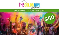 The Color Run™ Dream Tour - Entry for $50 (Plus Booking Fee), 16 July, Broadwater Parklands