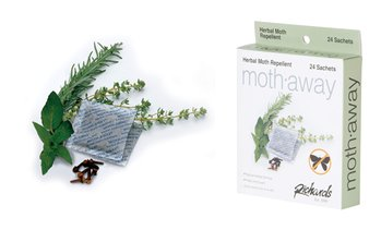 Moth-Away Herbal Repellent Sachets (18-, 24-, or 72-Pack)