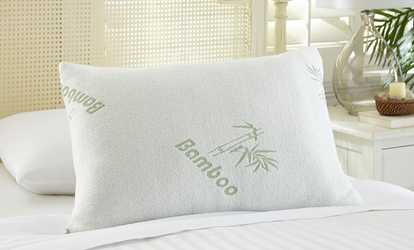 image placeholder image for bamboo memory foam pillows 1 or 2pack top seller