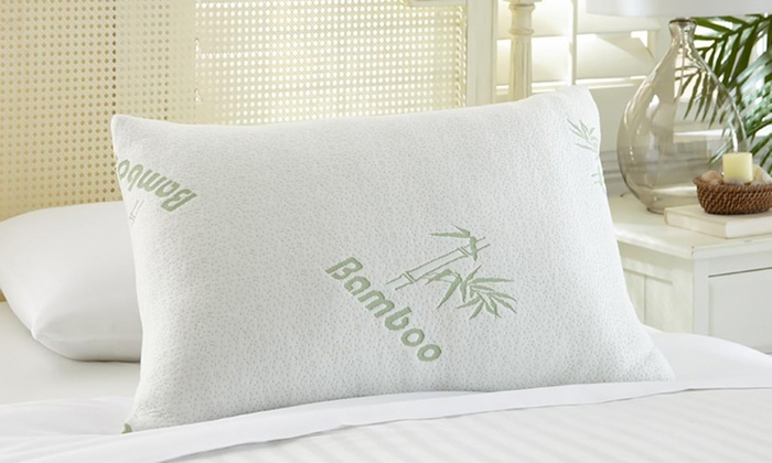 Bamboo Memory Foam Pillows 1 Or 2 Pack Livingsocial