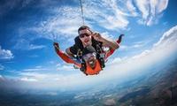 Wertgutschein über 100 € anrechenbar auf einen 4.000 m Tandemsprung mit TAKE OFF Fallschirmsport