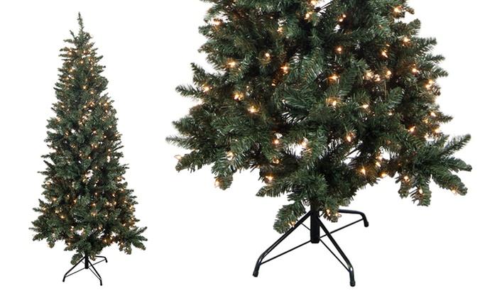 artificial prelit christmas trees artificial prelit christmas trees - Prelit Christmas Trees