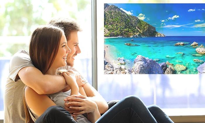Custom Photo Window Cling Cheap Canvas Deals Groupon - Window clings custom cheap