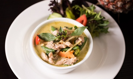 Thai Lunch with Drink for One $12, Two $24 or Four People $46 at Ruean Thai Cuisine Up to $89.60 Value