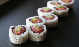 AO Sushi: $14 for $25 Worth of Sushi for  Dine in, Takeout, or Delivery at AO Sushi Buffalo Grove