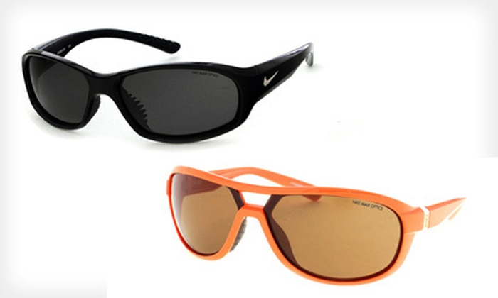 Nike Sunglasses: Nike Unisex Plastic Sunglasses (Up to 71% Off). 30 Styles Available. Free Shipping and Free Returns.