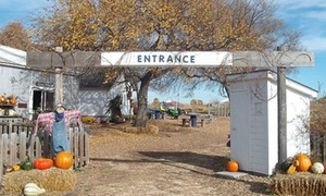 Up to 50% Off Admission for Two or Four at The ScareCrow Patch at The ScareCrow Patch, plus 6.0% Cash Back from Ebates.