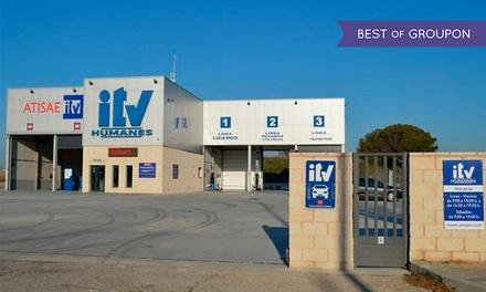 ITV con tasas incluidas para vehículos gasolina y motocicletas o vehículos diésel desde 29,95 € en Atisae Humanes