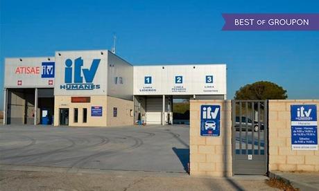 ITV con tasas incluidas para vehículos gasolina y motocicletas o vehículos diésel desde 29,95 € en Atisae Humanes Oferta en Groupon