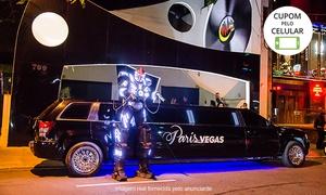 Paris Vegas Limousines: Paris Vegas Limousines: camarote na balada Over Night + passeio de limousine para 2, 4 ou 8 pessoas