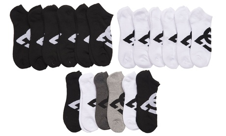 DC Men's Sports No-Show or Quarter Socks (6-Pack) c20ad39e-c2a1-11e7-9d35-00259069d7cc