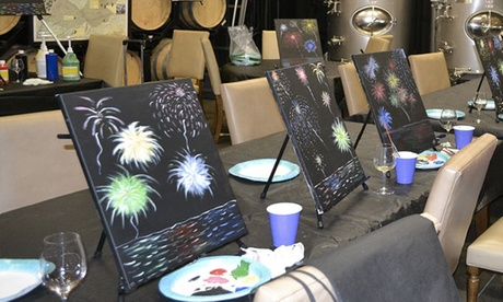 Glassware Painting or Paint Party for 1 or 2 from Art Party, USA - Temecula (Various Locations) (Up to 50% Off) 1b877b9d-6692-4d7d-8864-d4a4c6fe94fa