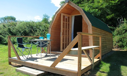 Scarborough: 2 or 3 Nights Self-Catering Cabin Stay for Up to Four at St Helens in the Park