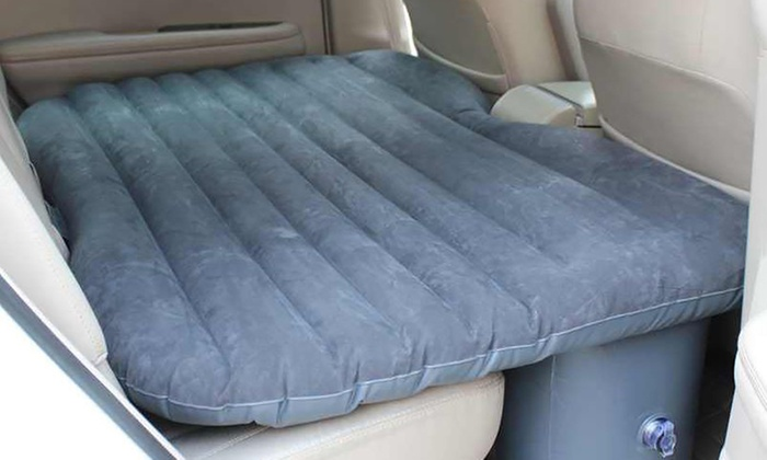 matelas gonflable pour voiture groupon. Black Bedroom Furniture Sets. Home Design Ideas
