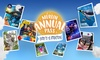 Gold Annual Pass with Entry to 10 Attractions