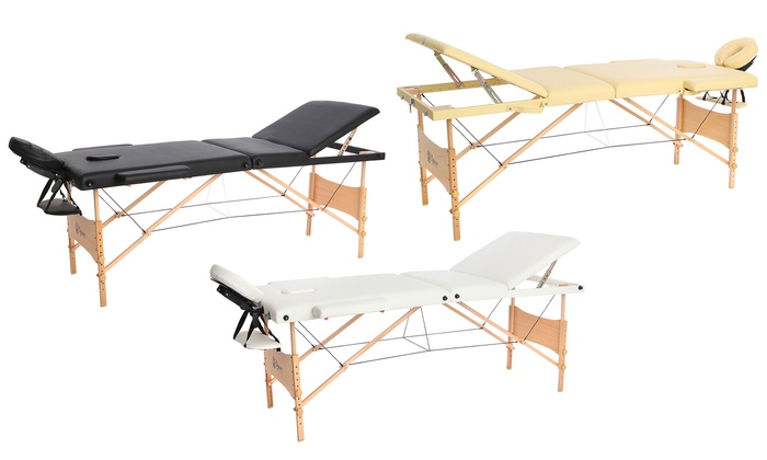 Lettino Massaggio Groupon.Lettino A 3 Zone Per Massaggi Groupon Goods