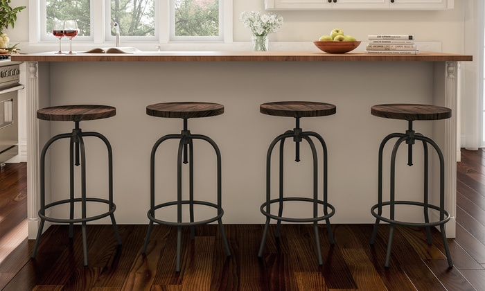 Strange Up To 41 Off On Lavish Home Backless Bar Stool Groupon Goods Pabps2019 Chair Design Images Pabps2019Com