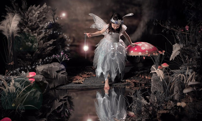 Kids Fairy Themed Photoshoot