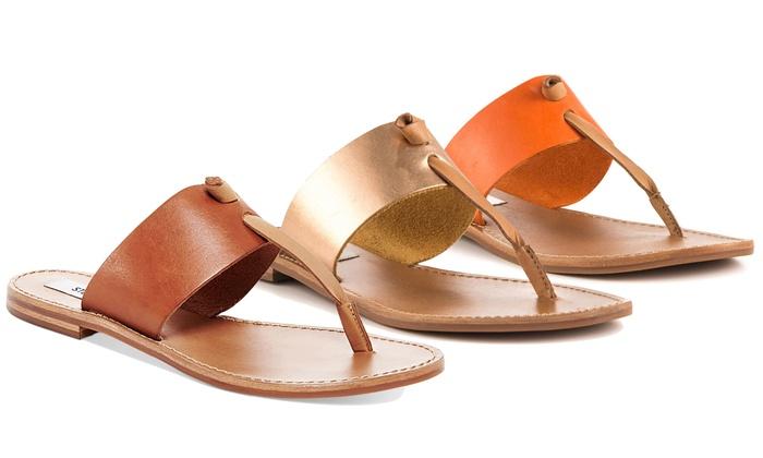7bb3e63160b Steve Madden Women's Olivia Flat Sandals (Size 5.5) | Groupon