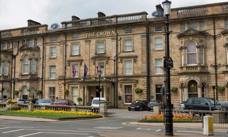 North Yorkshire: Double Room for Two with Breakfast and Food and Drink Credit at The Crown Hotel