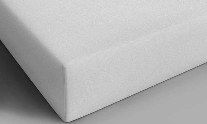 drap housse en jersey groupon. Black Bedroom Furniture Sets. Home Design Ideas