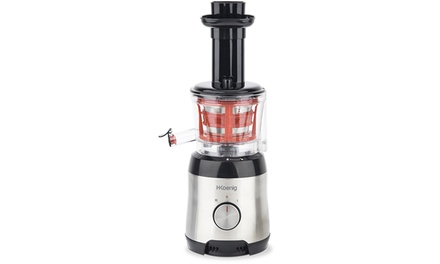 Slow Juicer Groupon : H.Koenig Entsafter Slow Juicer Groupon