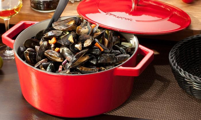 cyril lignac casserole dishes groupon. Black Bedroom Furniture Sets. Home Design Ideas