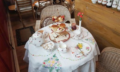 image for Afternoon Tea for Two or Four at The Temple Cafe
