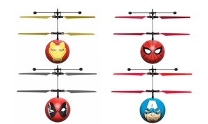 Marvel, DC, or Harry Potter Licensed Hand-Sensor Ball Helicopter